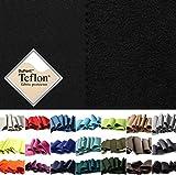 Softshell - Tela impermeable, transpirable y resistente al viento - 17 colores - Por metro (Negro)