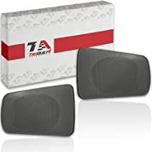 Quick, E-Z to Install Replacement Speaker Grilles for Toyota Camry Rear Speakers 2002 2003 2004 2005 2006, Pair For Left and Right Side, Easy Drop-In Repair Grey or Gray T1A-04007-521AA-B0