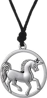 medieval horse pendant