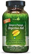 Ginger & Papaya Digestive-Aid Irwin Naturals 60 Liquid Softgel