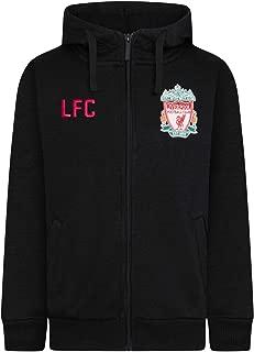 Liverpool Football Club Official Soccer Gift Mens Fleece Zip Hoody