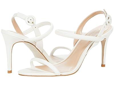 Massimo Matteo Evening Leather Sandal (White) Women