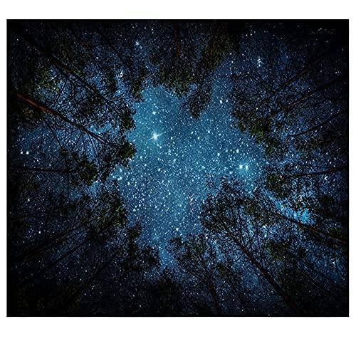 KHKJ El Tapiz de árbol de Setas mágicas en el Bosque de los sueños, Adecuado para Sala de Estar y Dormitorio A12 200x150cm