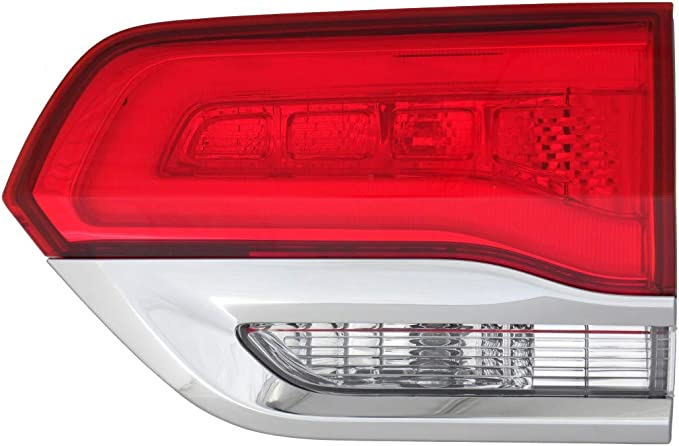 ABS Chrome Tail Light Rear Lamp Cover Trim For Jeep Grand Cherokee 2014-2016