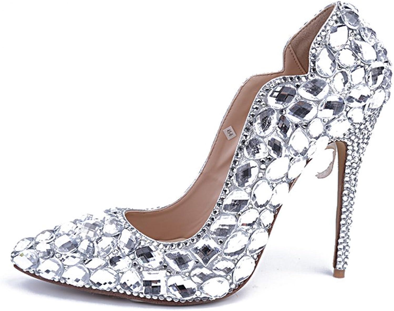 Lacitena Guangzhou Wholesale Women shoes with Diamonds