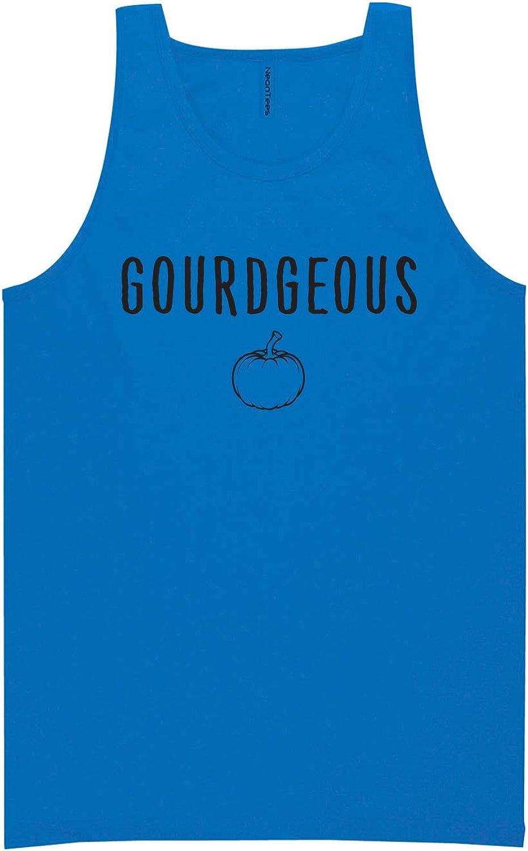 zerogravitee Gourdgeous Neon Blue Tank Top - XX-Large
