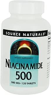 Niacinamide 500 mg Source Naturals, Inc. 120 Tabs
