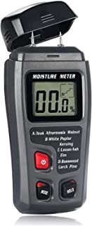 Tester Humidimètre 0-99,9% Deux Broches Digital Wood Humide Compteur Bois Humidité hygromètre Hygromètre Détecteur Humide ...