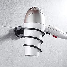 Jkckha Föhn Rack Space aluminium materiaal for wandmontage Spiral handig en praktisch Corrosiebestendig
