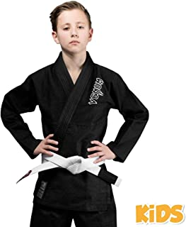 Venum Kids Contender BJJ Ju Jitsu Gi Suit - Black - New