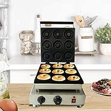 JIAWANSHUN 9 Holes Commercial Donut Maker Machine Doughnut Making Machine 110V