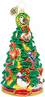 Christopher Radko Pear Tree Promises Christmas Ornament