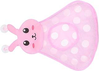 TOYANDONA Baby Toys Organizer Mesh Bags Cartoon Bunny Bath Toy Storage Bags for Bathroom Toddlers Bathtub Toy Shower Organ...