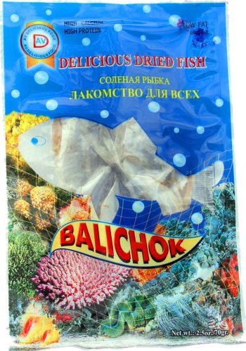 """BALICHOK"" (Dried Fish) ""THAILAND"", Vacum Packed in Plastic Bag, 165g. ""AV Delicious"""