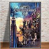 Bmstjk Rompecabezas de Madera de Kingdom Hearts, Rompecabezas de 1000 Piezas, Juego de Juguetes educativos, Regalo de Bricolaje
