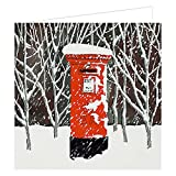 El buzón tarjetas navideñas - Art Beat XC0128 - 6 unidades