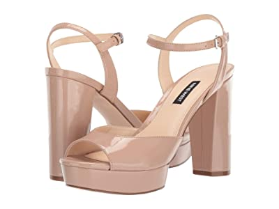 Nine West Gail (Taupe Patent) Women