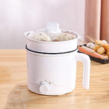 LONGSAND Mini cuiseur Multifonctionnel portatif de Pot Chaud électrique avec Le Couvercle et Le contrôle de température po...