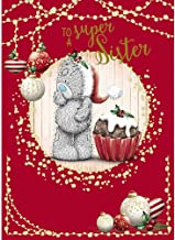 Me To You Sister Carte Blanche Bear Tatty Teddy Christmas Card