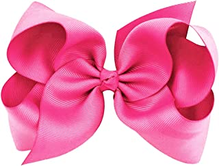 hair pink bow