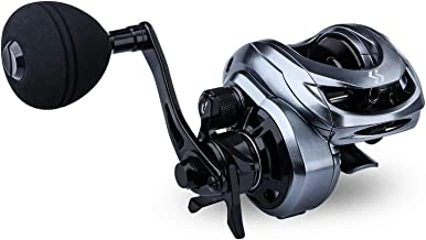 Sougayilang Baitcasting Fishing Reel High Speed Baitcaster with 9+1 Ball Bearings, Gear Ratio...