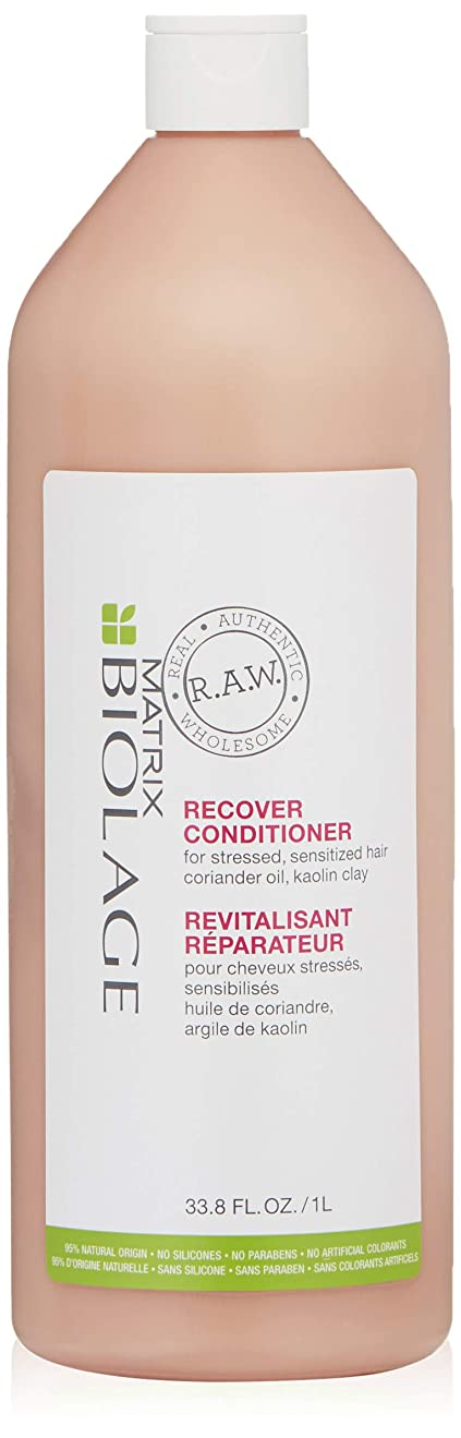 一部魔術求人マトリックス Biolage R.A.W. Recover Conditioner (For Stressed, Sensitized Hair) 1000ml/33.8oz並行輸入品