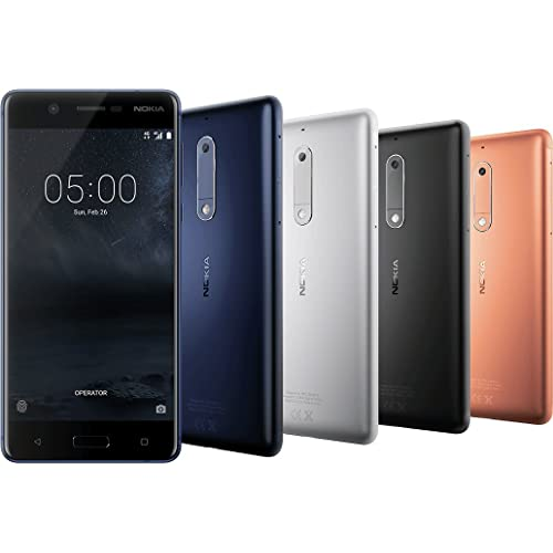 Nokia 5 3GB Ram 4G LTE Volte Ready 5.2 Inch Screen Tempered Blue Colour Mobile Phone (Special 3GB Edition)