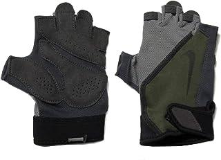 Nike NKN0003520334LG Unisex Adult NK MNS ELEMENTAL FITNESS CARG Performance Gloves - Khaki/Wolf Grey/Gun smoke/Black, Large