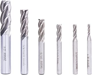 10 PCS 4 FLUTE 1//16 END MILL SOLID CARBIDE TIALN COATED X 3//16 X 1-1//2 BIT