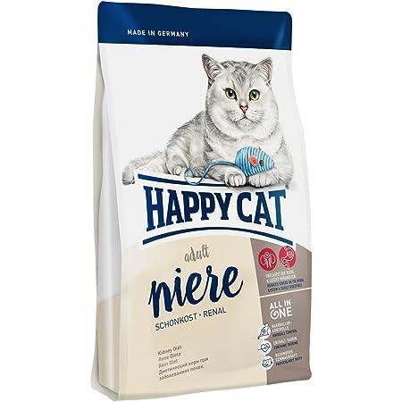 HAPPY CAT (ハッピーキャット) ダイエットニーレ 猫用 腎臓ケア グルテンフリー 成猫 〜 シニア 腎臓 心臓 肝臓 (300g)