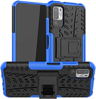 GOGME Case voor Xiaomi Redmi Note 10 5G | Poco M3 Pro 5G, Robuuste Shell Dubbellaags Hybrid Armor Cover, Anti-Scratch PC +...