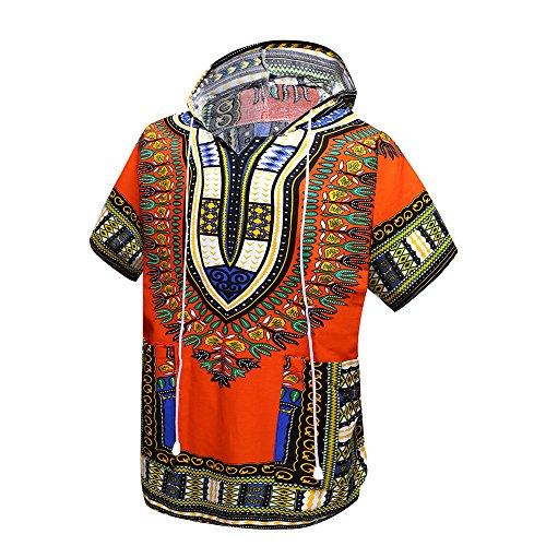 Orang - Dashiki africano, indio, camisa unisex, sudadera con