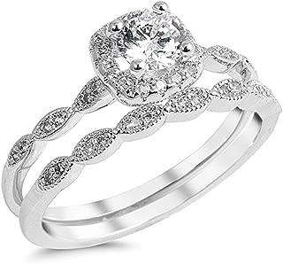 Best sterling silver wedding set Reviews