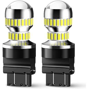 7440 7443 LED Back Up Light Bulbs KXJX T20 7441 7444 LED Light Bulb for Reverse Light Tail Brake Blinker Lights 6000K Xenon White
