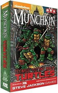 Teenage Mutant Ninja Turtles Munchkin Card Game