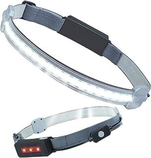 広角照明(180度) ヘッドライト 充電式 防水 led ヘッドライト 釣り 3種類点灯モード COBランプビーズ採用 300ルーメン