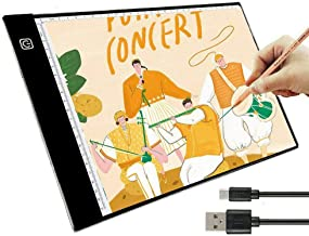 LED Tracing Board, LED Light Box Ideal for 5d Diamond Painting, DIY Arts & Crafting, Quilting, Animation Drawing; Powered ...