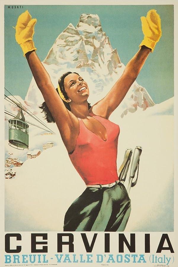 プレビュー薄暗いジャベスウィルソンCerviniaヴィンテージポスター(アーティスト: Musati )イタリアC。1953 16 x 24 Giclee Print LANT-61349-16x24