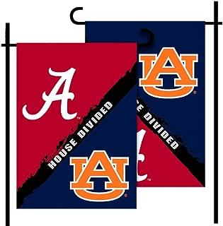 Bsi Products, Inc. - Alabama - Auburn-2-Sided Garden Flag - Rivalry House Divided