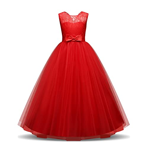 a45a7ec6a91 TTYAOVO Girls Pageant Ball Gowns Kids Chiffon Embroidered Wedding Party  Dress