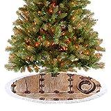 Falda para árbol de Navidad con diseño de árbol de Navidad, con forma de...