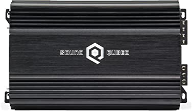 SoundQubed S1-1250 1260 Watt RMS Single-Channel (Monoblock) Class D Car Audio Amplifier with Remote Gain Control