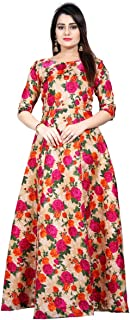 Clothfab Women's cotton a-line Salwar Suit Set