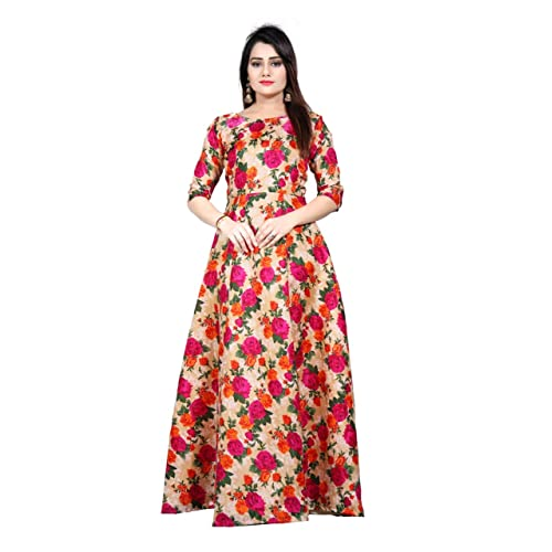 Printed Gown  Buy Printed Gown Online at Best Prices in India ... cd5d9a3c7