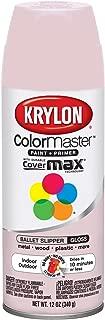 Krylon K05353407 ColorMaster Paint + Primer, Gloss, Ballet Slipper, 12 oz.