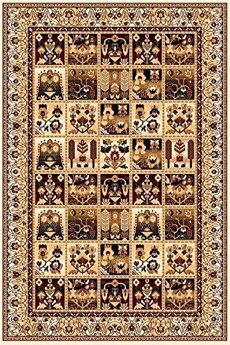 Tappeto, Design orientale, 200x300 cm, Lana, multicolore, Collezione - Hunnu !!! (200_x_300)