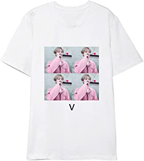 KPOP BTS Bangtan Boys T-shirt MAP OF THE SOUL PERSONA Sommer Kurzarm Tshirt Top