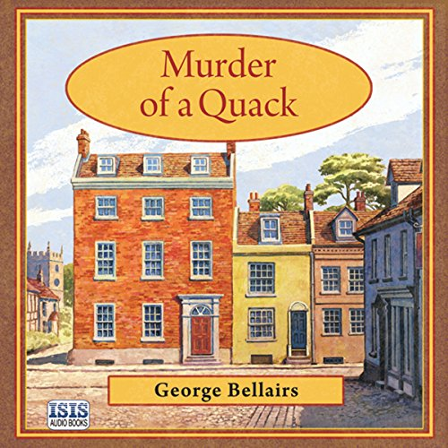 Murder of a Quack audiobook cover art