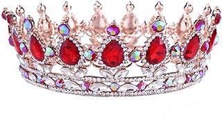 YNYA Tiare Bridal Crown Headband Headdress Baroque Strass Crystal Head Ornaments Wedding Abiti da Sposa Accessori Gioielli...