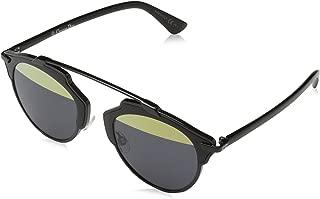 Dior Women CD SO REAL/S 48 Black/Gold Sunglasses 48mm
